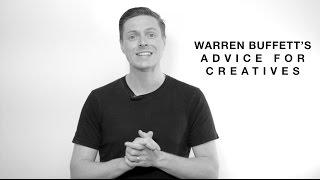 Les conseils de Warren Buffet pour les créatifs