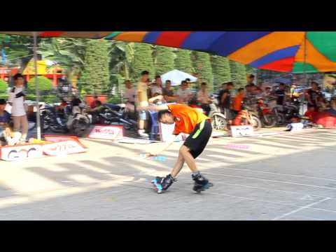 Giải patin Hải Phòng 2013 Freestyle Slide - Final - iSkate Club