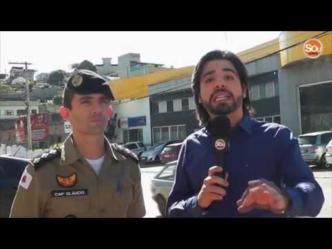 ITABIRITO URGENTE: Trailer é assaltado no bairro Santa Rita