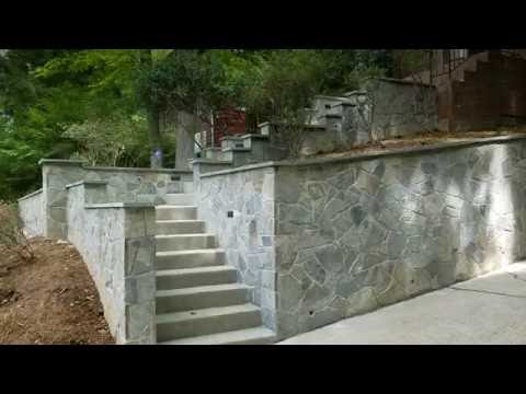 Maryland Erosion and Drainage: Retaining Walls
