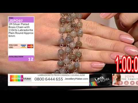 Peridot and Pearls for jewellery making: JewelleryMaker late show LIVE 16/12/14