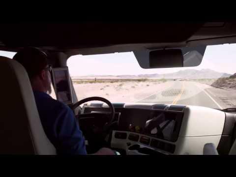 Грузовик с автопилотом получил лицензию на перевозки