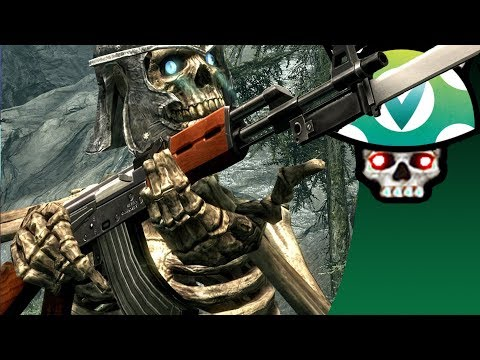 [Vinesauce] Joel - Sexy Skeleton Quest ( Crazy Skyrim Mods )