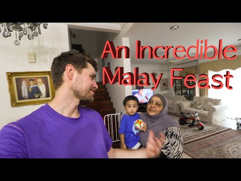MY NEW FAMILY: Eating AUTHENTIC MALAY FOOD and Learning The Truth About MUSLIMS! - Thời lượng: 20 phút.