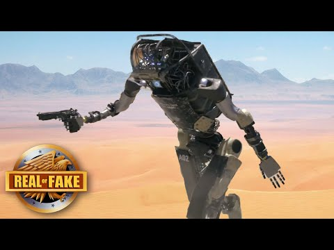 AMAZING ROBOT SOLDIER - real or fake?