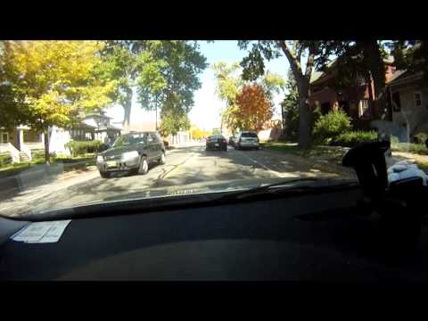 Driving in Chicago Suburbs Oak Park Ave HD.mpg