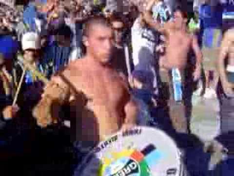 Grêmio x Flamengo - Entrada da Banda da Geral - Geral do Grêmio - Grêmio