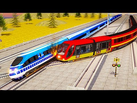 Indian Train Racing Games 3D - Multiplayer (Android Gameplay ) | Droidnation