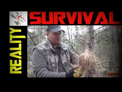 How To Make A Birds Nest For Primitive Fire