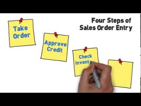 Sales Order Entry Video