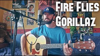 Video Gorillaz - Fire Flies - Cover MP3, 3GP, MP4, WEBM, AVI, FLV Juni 2018
