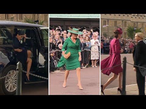 Fashion verdict: Royal outfits at Princess Eugenie's wedding
