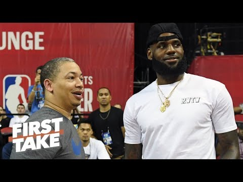 Video: Ty Lue coaching the Clippers is no threat to LeBron's title run – Stephen A. | First Take