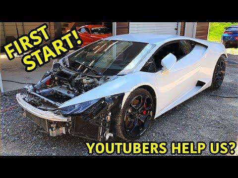 Rebuilding A Wrecked Lamborghini Huracan Part 5