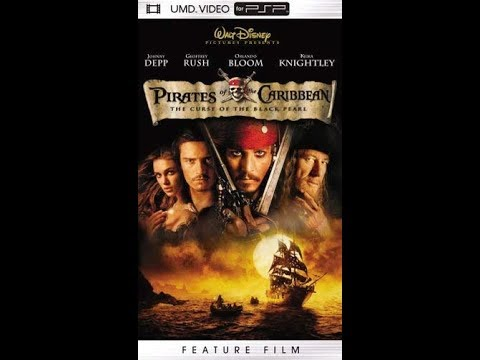 Opening/Closing To Pirates Of The Caribbean:The Curse Of The Black Pearl 2005 UMD Video For PSP (EU)