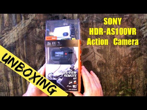 Sony HDR-AS100VR Action Camera ~ Unboxing