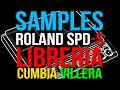 SAMPLES de CUMBIA Roland SPD-S, SPD-SX & Yamaha DTX MULTI 12 | Librería .WAV DESCARGA