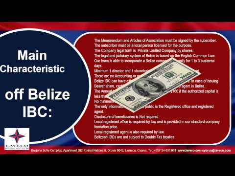 Belize Offshore Company - Оффшор Белиз by Laveco since 1991