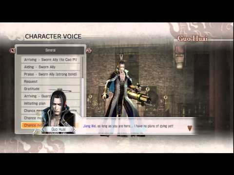 DW7 Conquest Voice Clips- Guo Huai