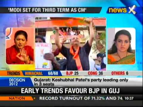 Smriti Irani for Modi as PM - NewsX