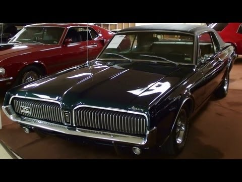 xr7 - I thought you'd like a look at this very clean 1967 Mercury Cougar XR7. This beauty only has about 50,xxx original miles and it really looks great. It's powe...
