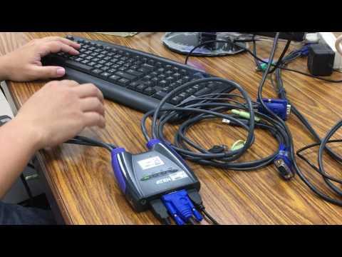 How to switch ports on CS64US or CS64U