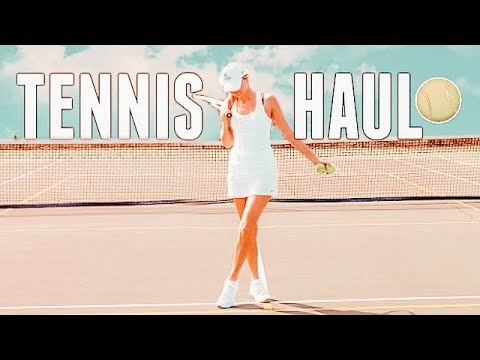 TENNIS HAUL 🎾 Tennis Haul Try On 🎾 Tennis Clothing Haul 🎾 Tennis Outfits 🎾 tennis 2018-2019