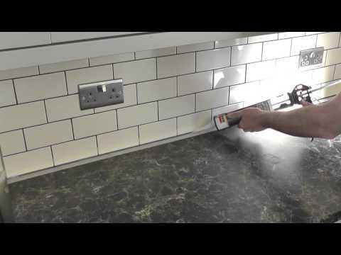 DIY: How to caulk / How to apply silicone sealant