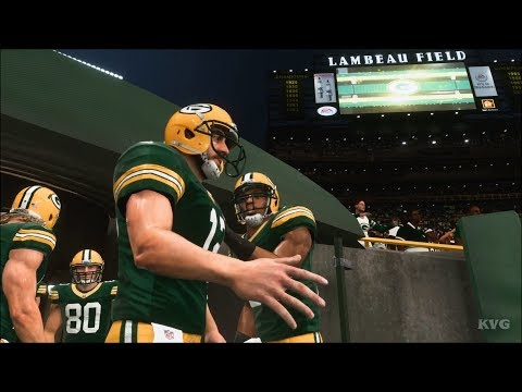 Madden NFL 19 - Green Bay Packers vs New York Giants - Gameplay (HD) [1080p60FPS]