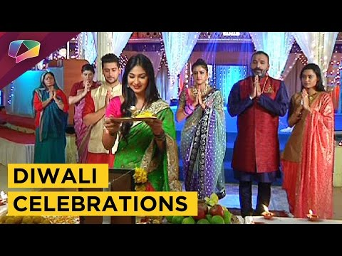 Vivaan and Imli celebrate their first Diwali