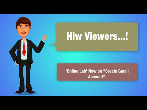 Gmail Account Create Google Mail Sign Up - Online Lab