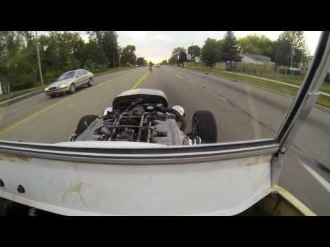 Ride in a 1923 T-bucket 1991 Jaguar V12
