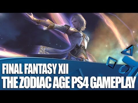 Final Fantasy XII The Zodiac Age – New PS4 Gameplay