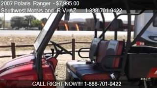 7. 2007 Polaris  Ranger   - for sale in Dewey, AZ 86327