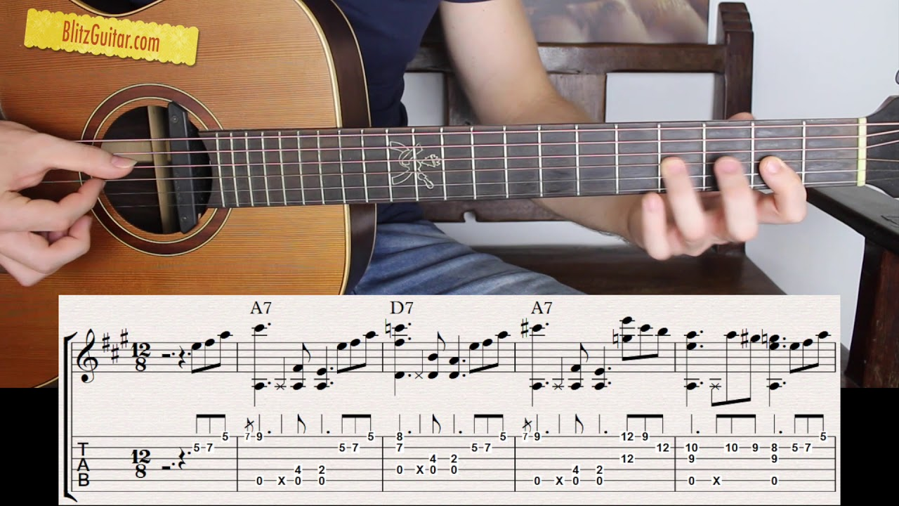 The Easiest Blues on Acoustic Guitar | Beginner Friendly