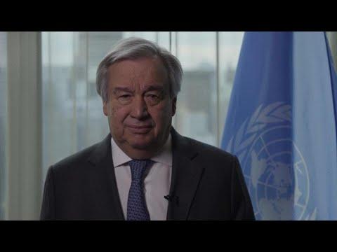 UN Secretary-General's message on Coronavirus Pandemic