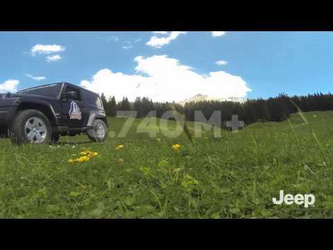 The North Face® Lavaredo Ultra Trail - Jeep® Wrangler through the Dolomites