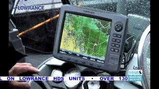 Lowrance SIRIUS Satellite Weather for Inland Marine
