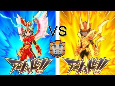 Inazuma Eleven GO 3 Galaxy : VS FF Raimon (Level 99 Battle Part 14)