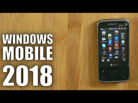 HTC Touch Pro Old Phone Challenge: Windows Mobile in 2018