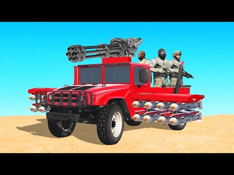 *NEW* FULLY UPGRADED ARMY TRUCK in GTA 5 Online!