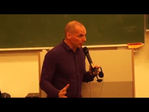 Yanis Varoufakis at the Blockupy Ratschlag in Berlin, February 6th/7th, 2016