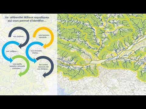 Le référentiel cartographique milieux aquatiques du SAGE