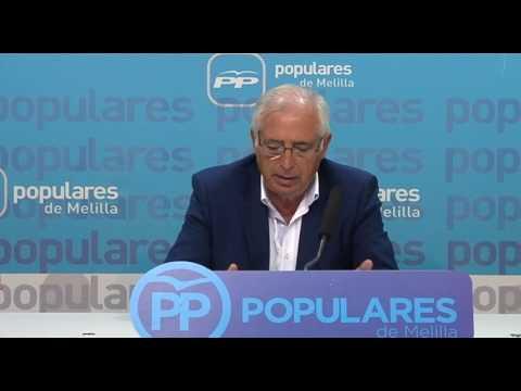 """Imbroda """"Lo de CpM y PSOE con Miguel Marín, es algo ya de tipo personal"""""""