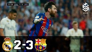 Video Real Madrid vs Barcelona 2-3 ● All Goals and Full Highlights ● English Commentary ● 23-04-2017 HD MP3, 3GP, MP4, WEBM, AVI, FLV Juni 2019