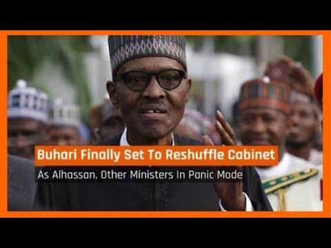 Nigeria News Today: Buhari Finally Set To Reshuffle Cabinet This Week (11/09/2017)