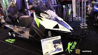 6. 2018 Arctic Cat Norseman 6000 Accessorized Sled - Walkaround - 2017 Toronto Snowmobile ATV Show