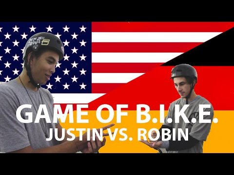 Bmx Game Of Bike - Justin Rudd Vs Robin Kachfi
