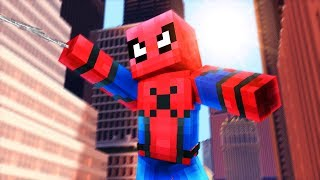 Minecraft Spiderman Homecoming - I AM SPIDERMAN!! | Minecraft Roleplay