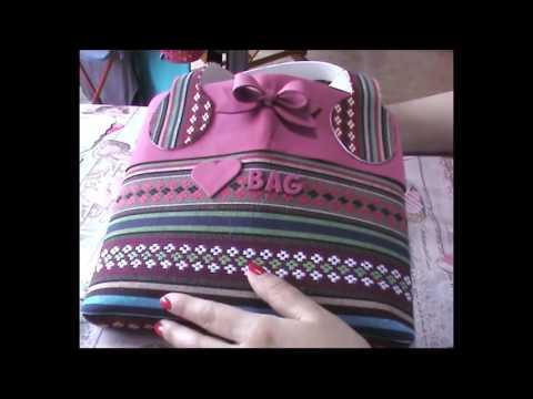 foamy - come realizzare una borsa con i manici